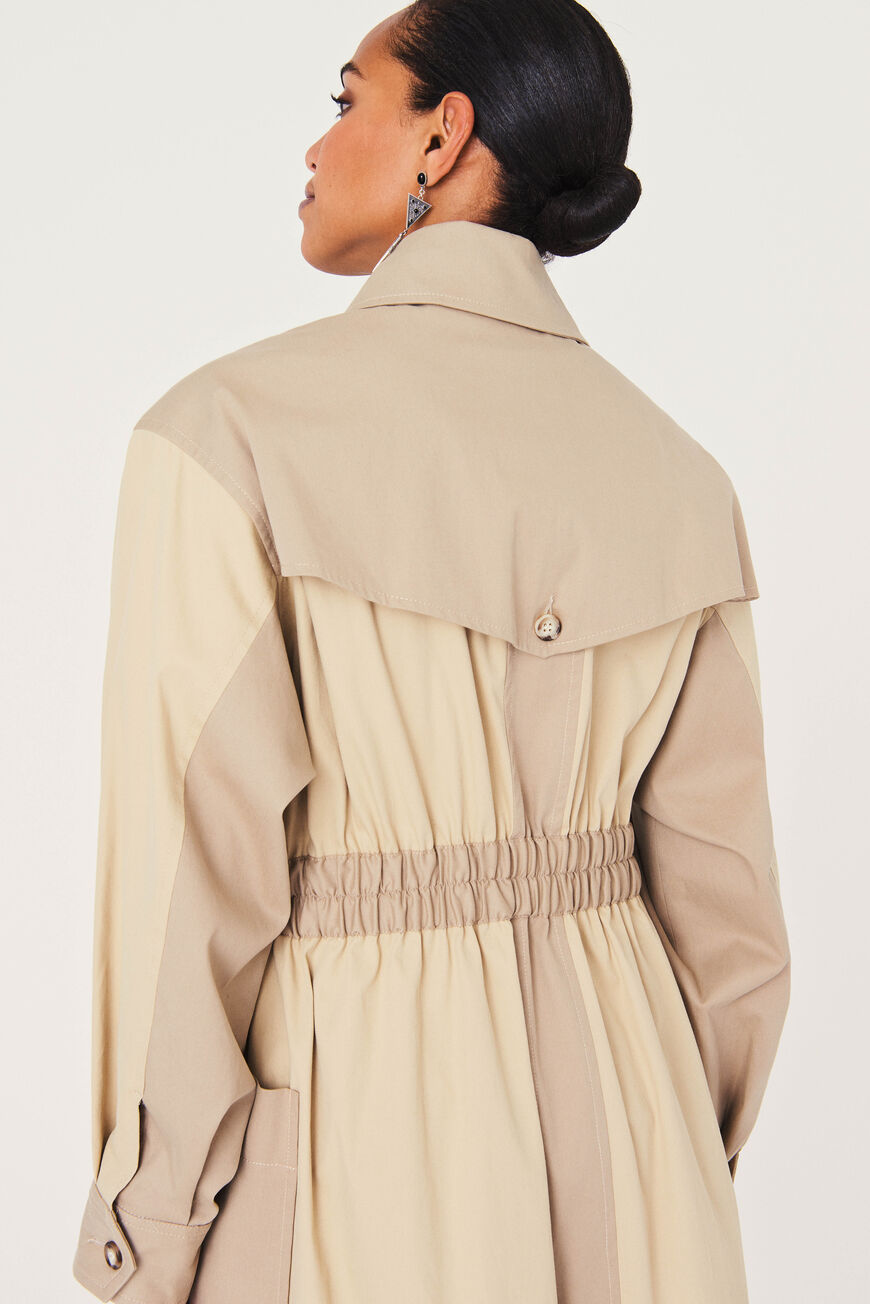 COAT ALEXI Main BEIGE