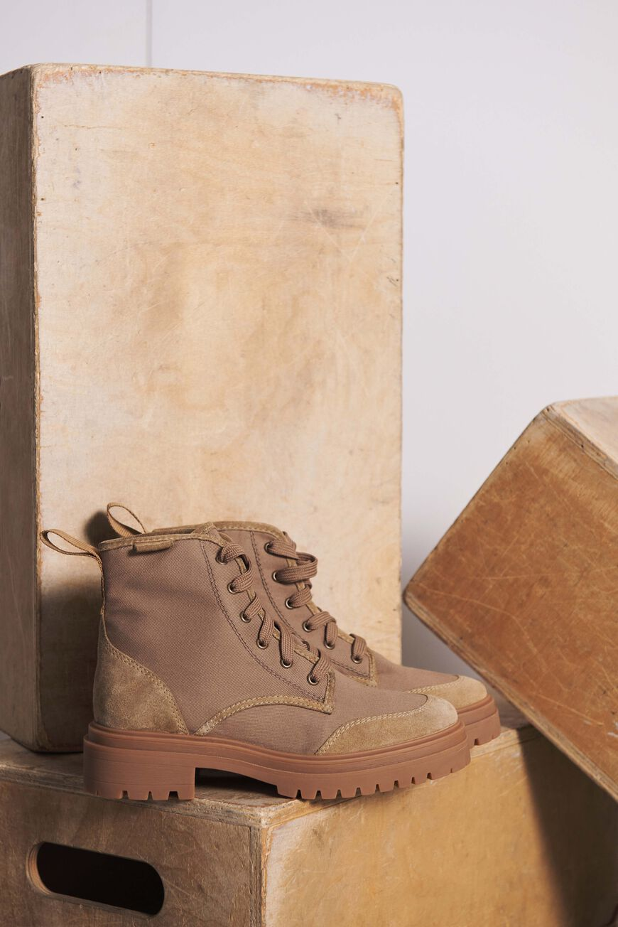 DESERTBOOTS CANASTRA BOOTS GREIGE BA&SH