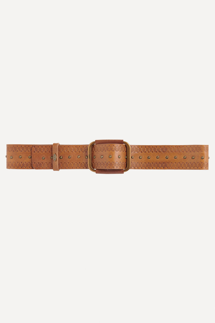 BELT BIBIZA BELTS COGNAC