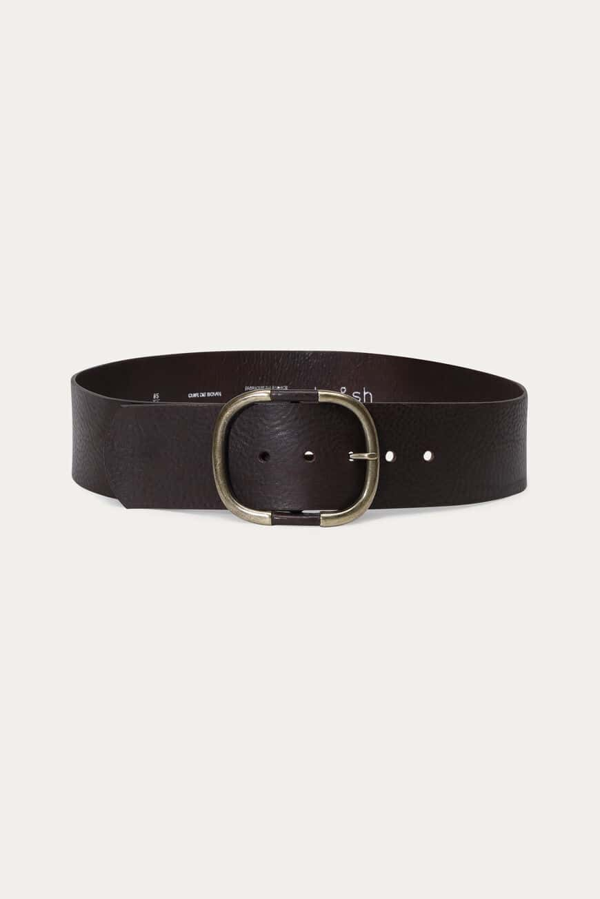 BIRMANE BELT BELTS MARRON