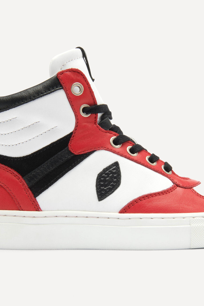 SNEAKERS CRUSH CHAUSSURES ROUGE