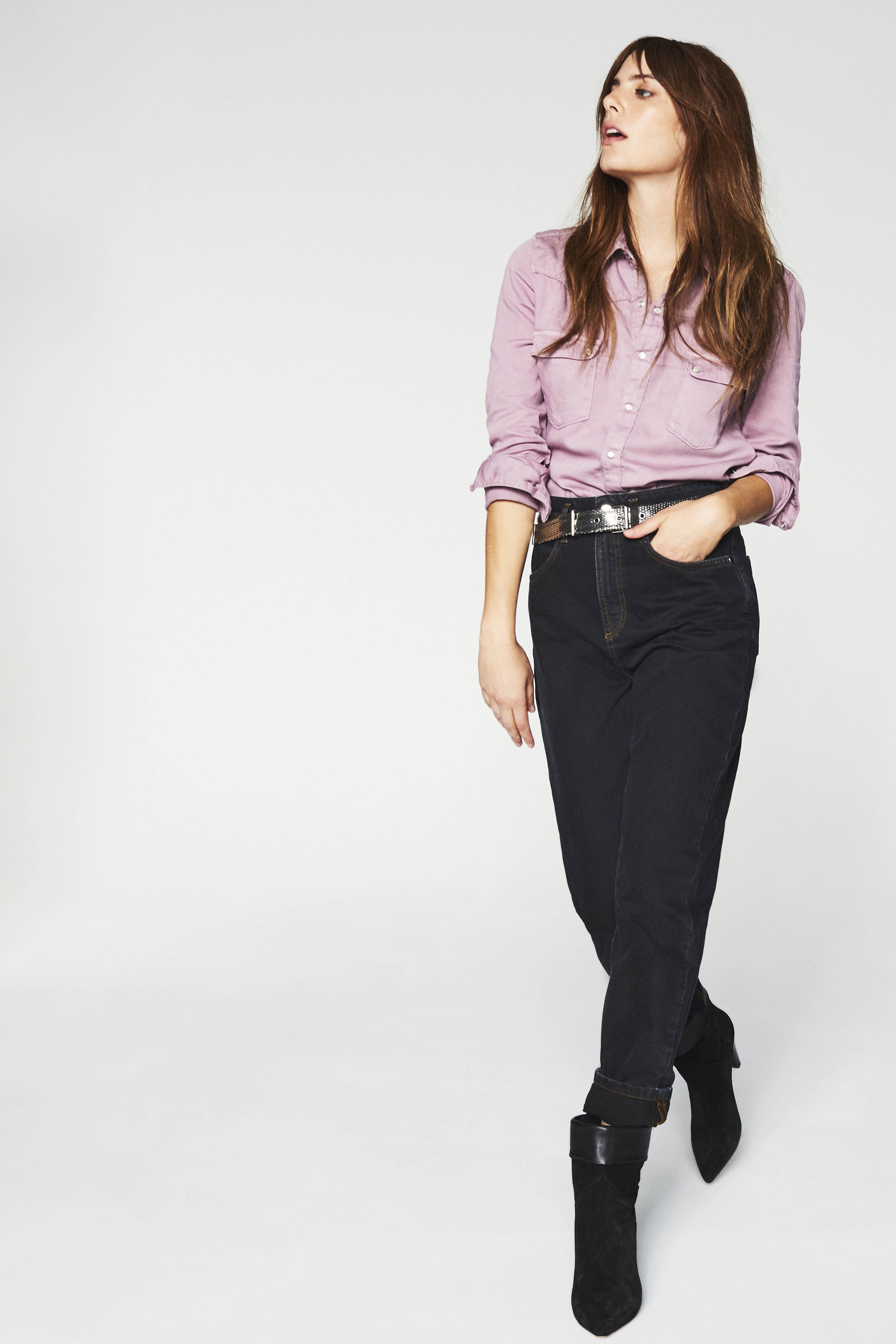 Robe en jean quelle veste