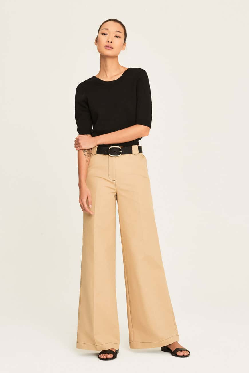 TROUSERS DOVE TROUSERS & JEANS