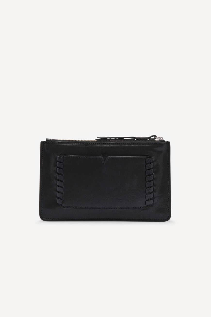 S-POUCH TEDDY SMALL LEATHER GOODS NOIR