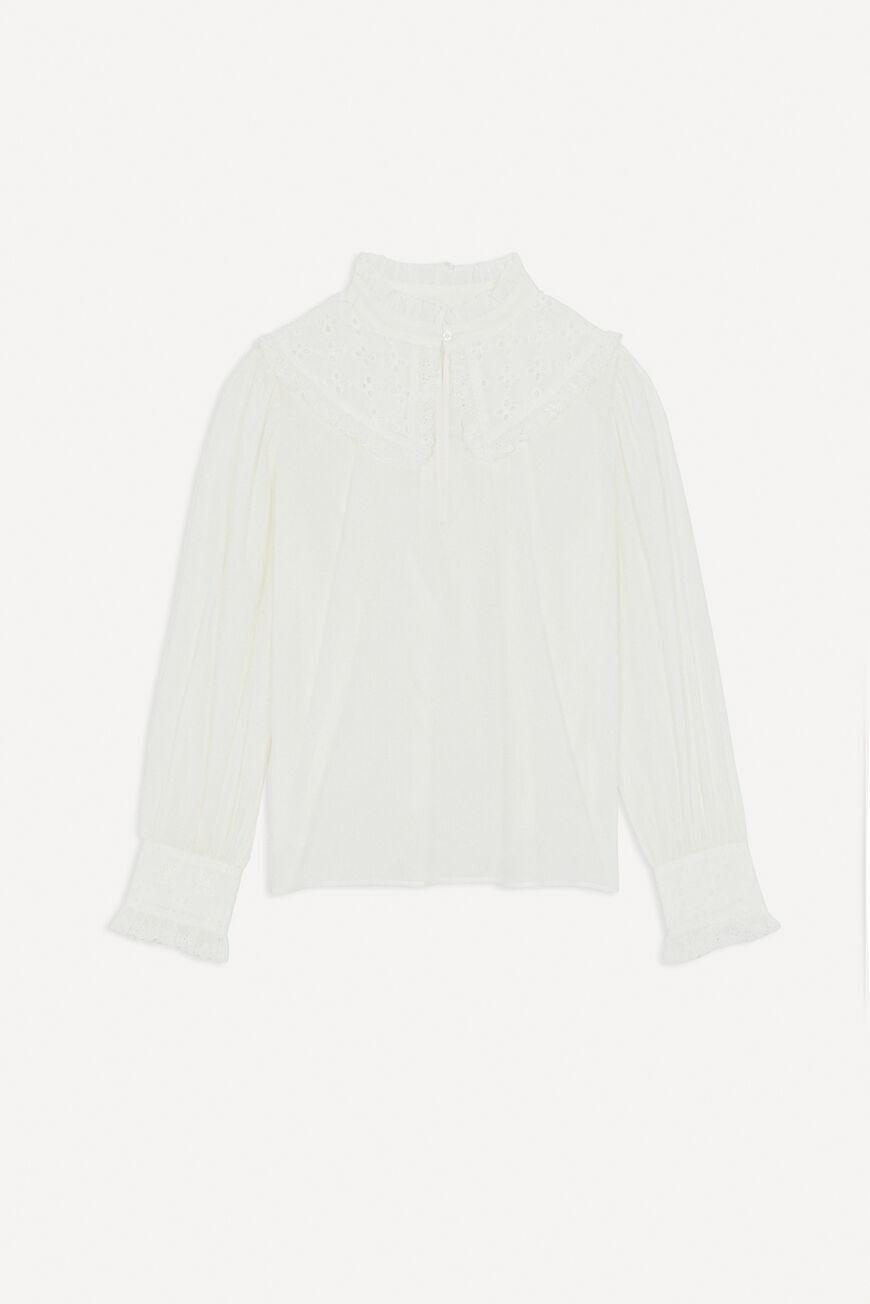BLOUSE DONIA Tops & Shirts ECRU BA&SH