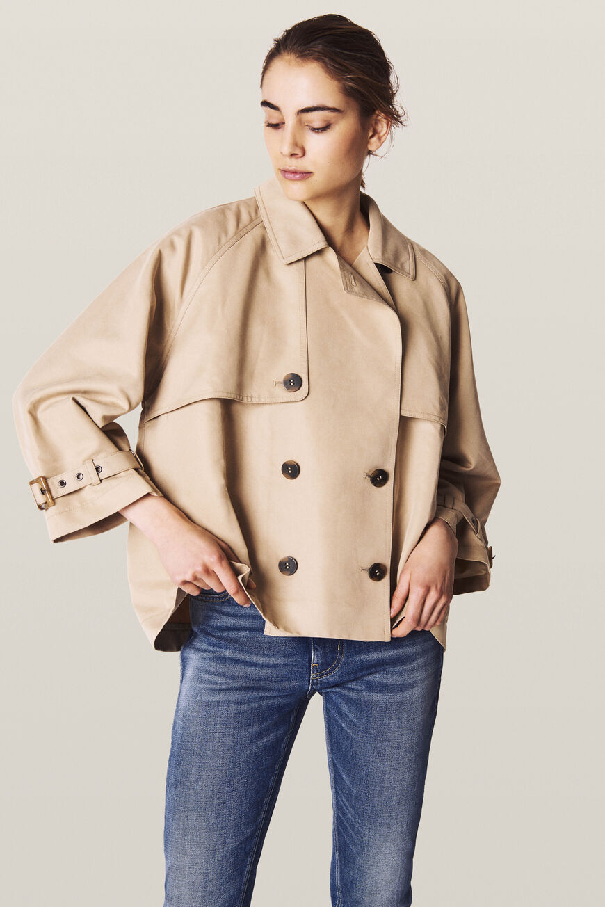 TEA TRENCH JACKETS & COATS