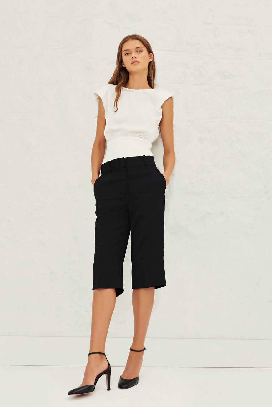 SHORTS TAHA pantalones NOIR