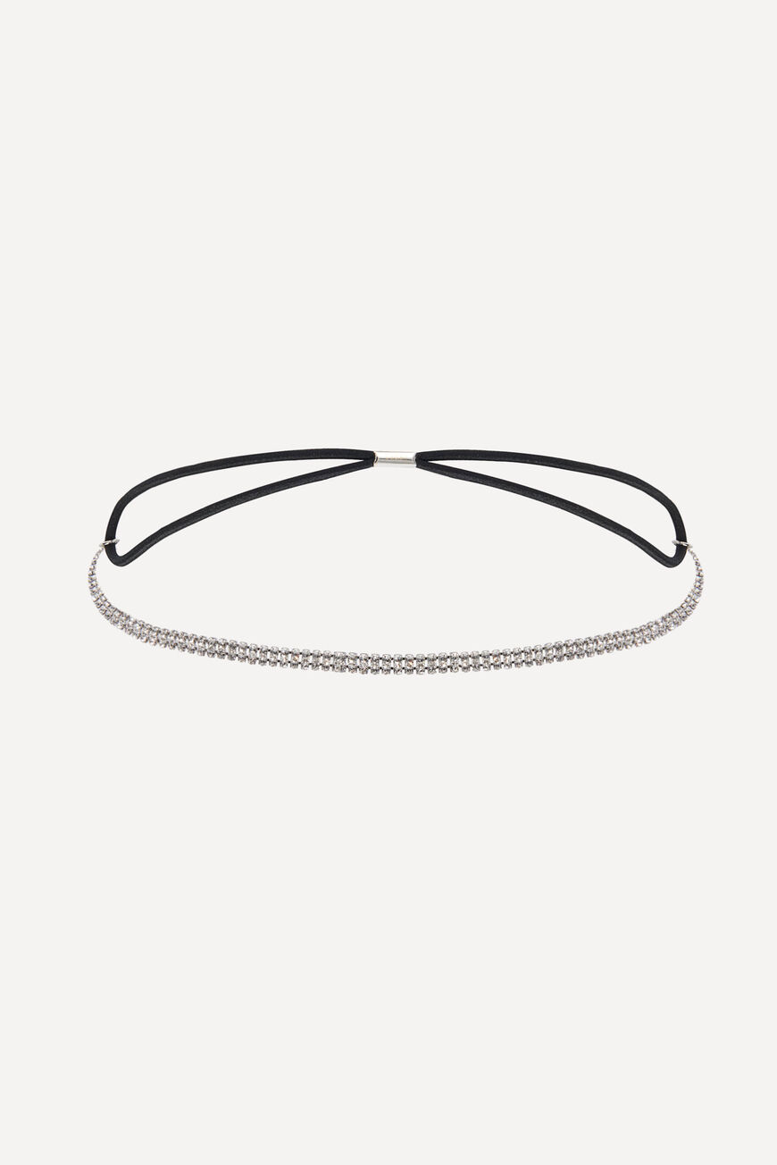 HAIRBAND HAILEY HAIR ACCESSORIES ARGENT