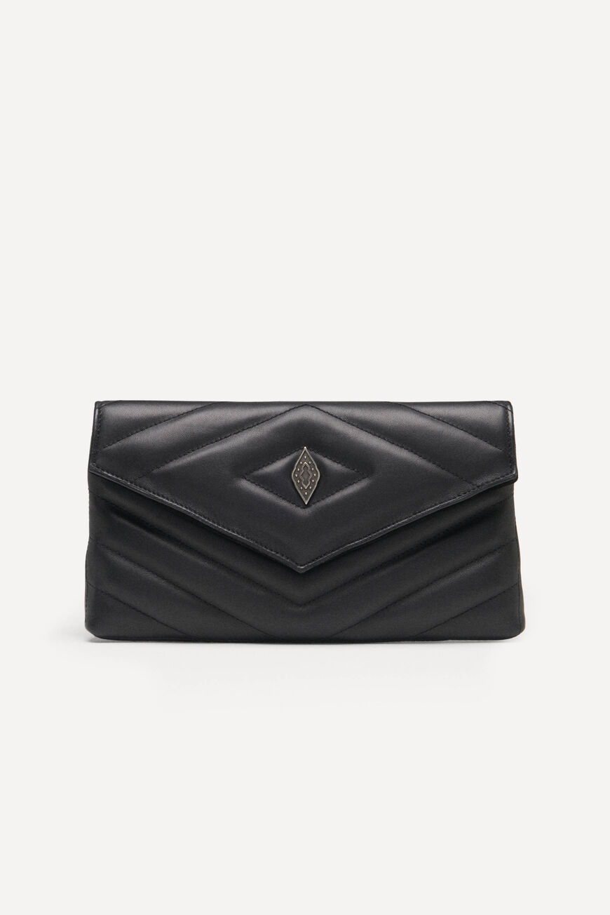 ENVELOPE CLUTCH TEDDY TEDDY NOIR