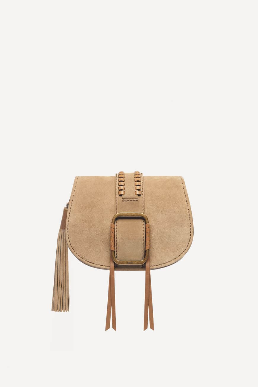 MINI-SAC TEDDY CROSSBODY BAGS SABLE