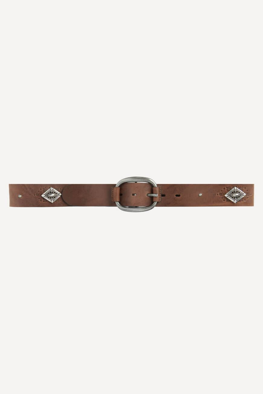 BELT SBARLONE BELTS MARRON