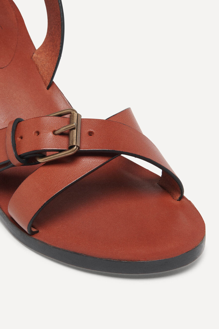 SANDALS CATHALYA SHOES COGNAC