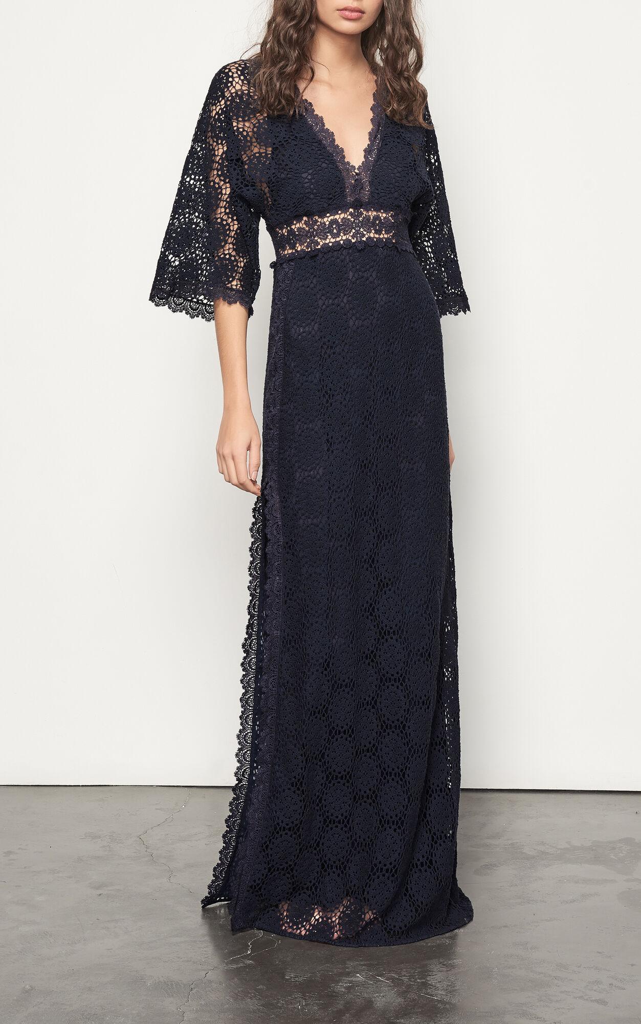 Kleid lorraine bleunuit ba sh for Robe de cocktail avec veste pour mariage