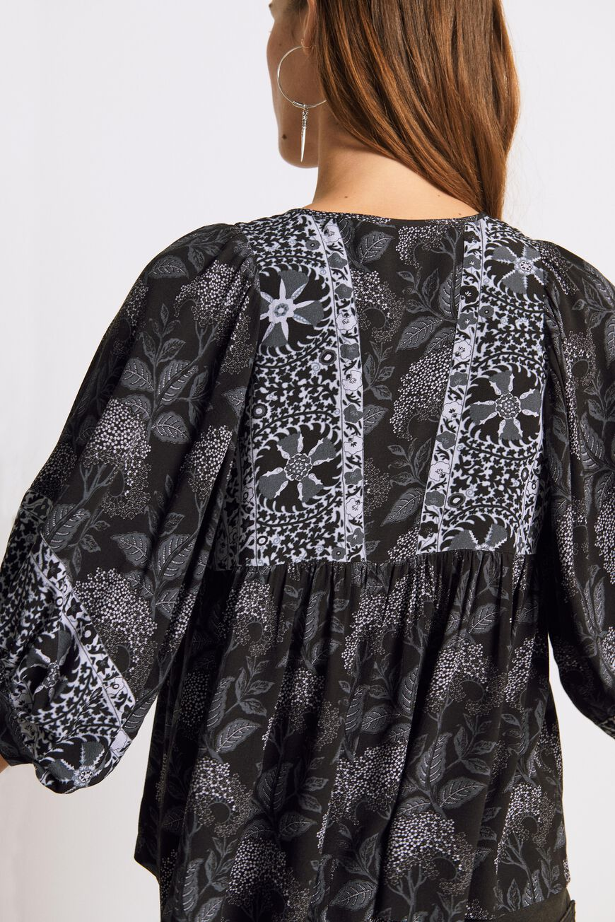 BLOUSE GARRY MAILLES CARBONE