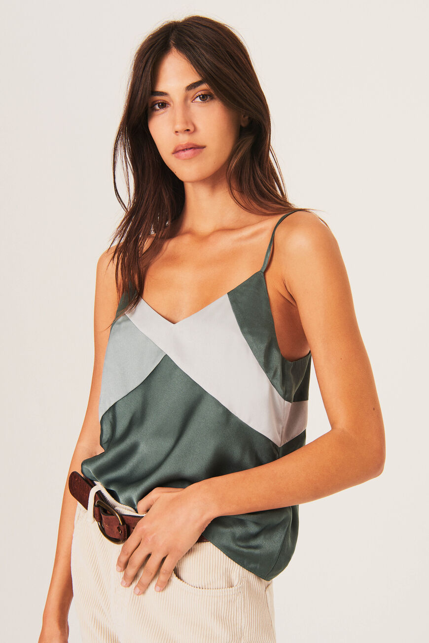 CULTE TANK TOP SATIN TOUCH