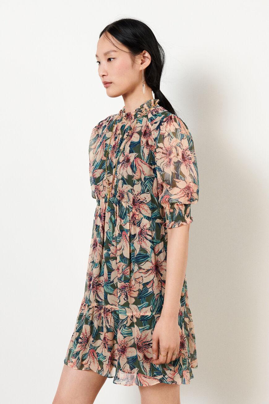 DRESS BETTY MINI DRESSES TURQUOISE BA&SH