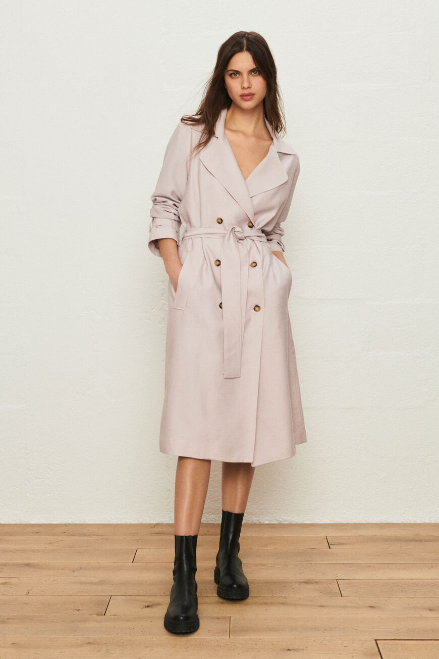 TRENCHCOAT CRICKO COATS LILAS