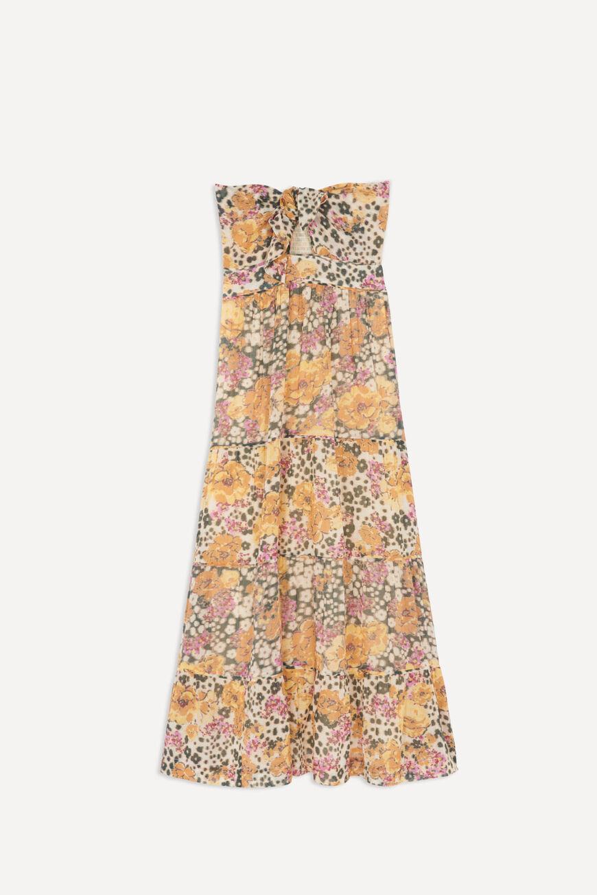DRESS DALID MAXI DRESSES OCRE BA&SH