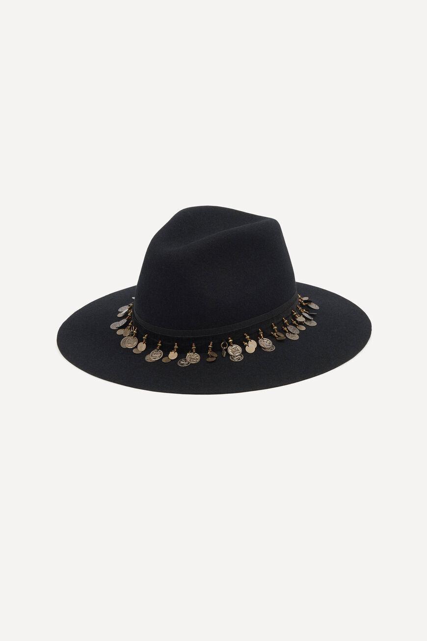 HAT HUGO HATS & CAPS NOIR BA&SH