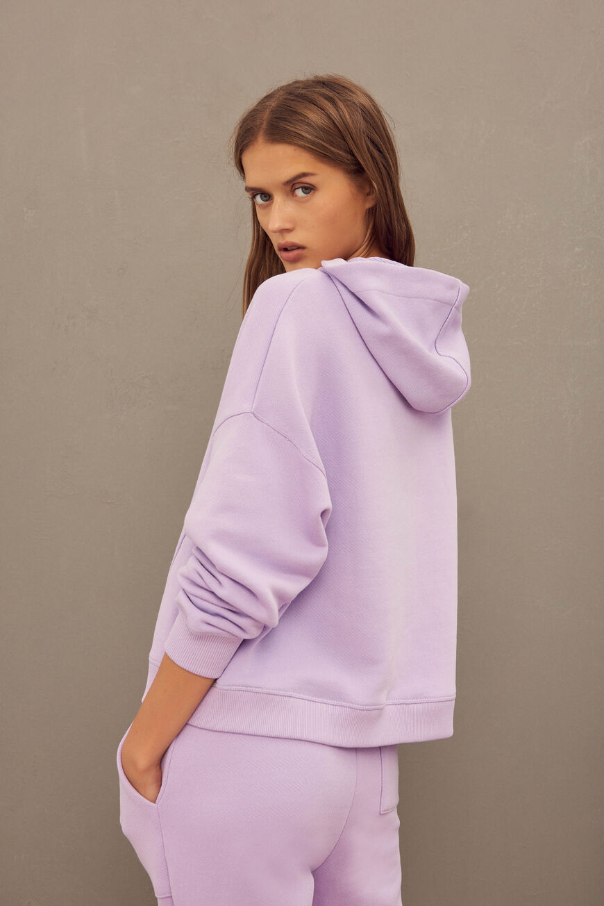 SWEATSHIRT TIMEO New Collection VIOLET