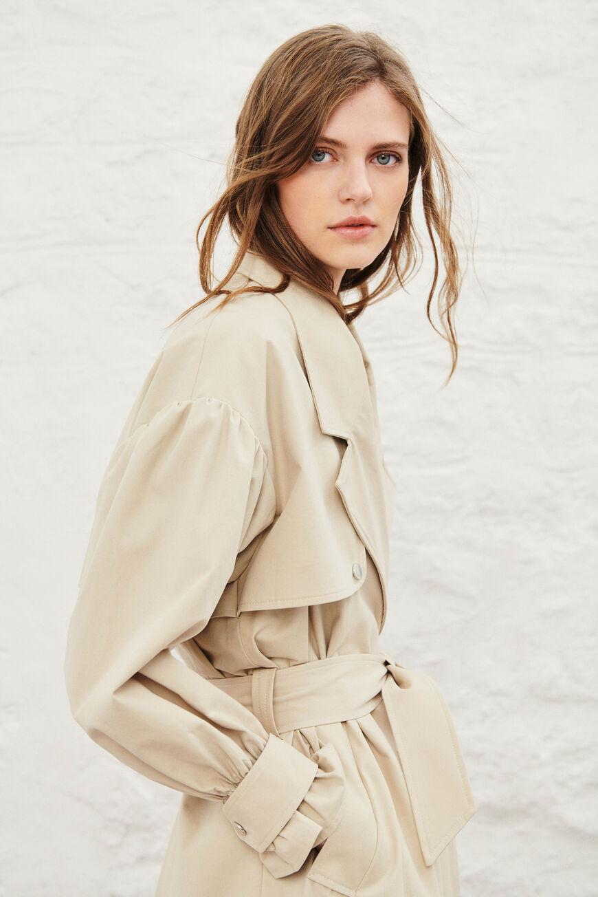 TRENCHCOAT ALAN JACKETS & COATS BEIGE