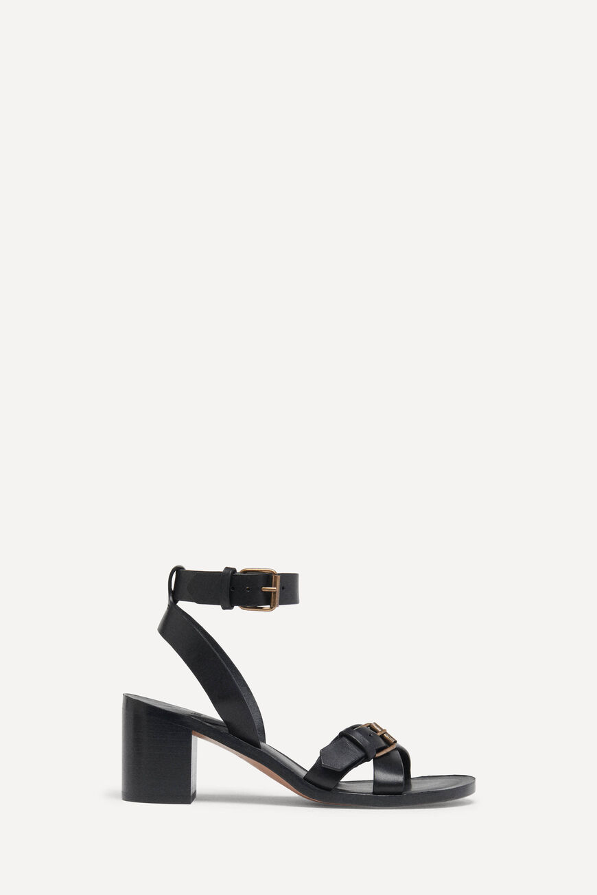 SANDALETTEN CATHALYA PUMPS AND SANDALS NOIR