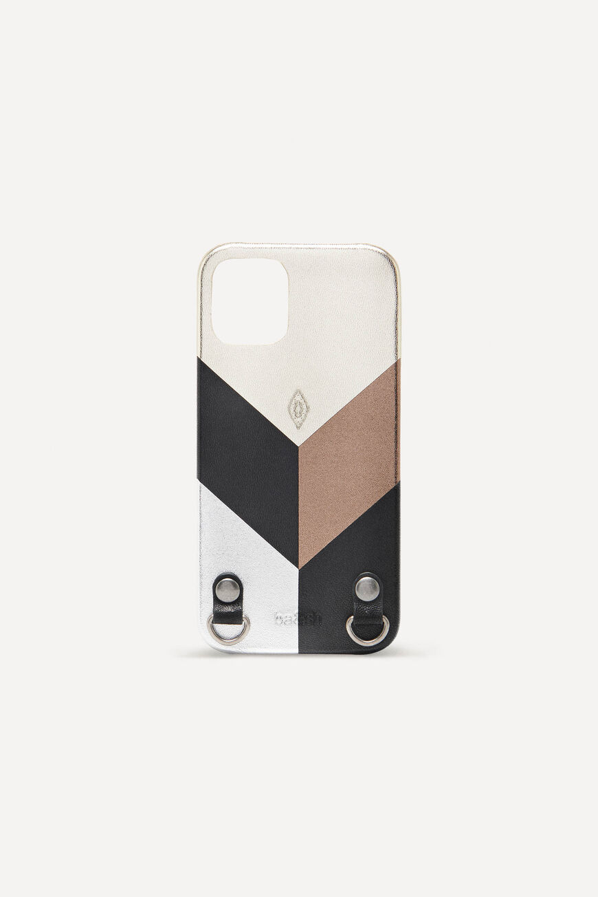IPHONE-12-HOLDER IPHONECASE SMALL ACCESSORIES METALIC BA&SH