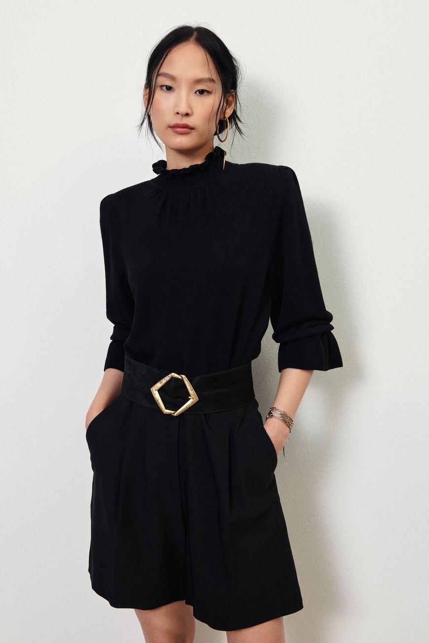 PULLOVER SINTO pullovers NOIR BA&SH