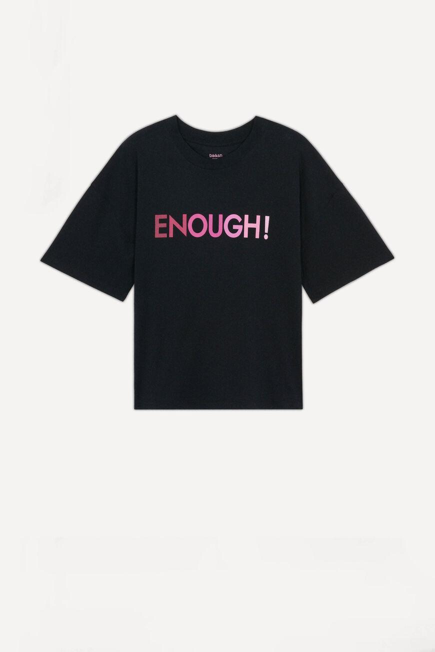 ENOUGH TSHIRT New Collection NOIR BA&SH