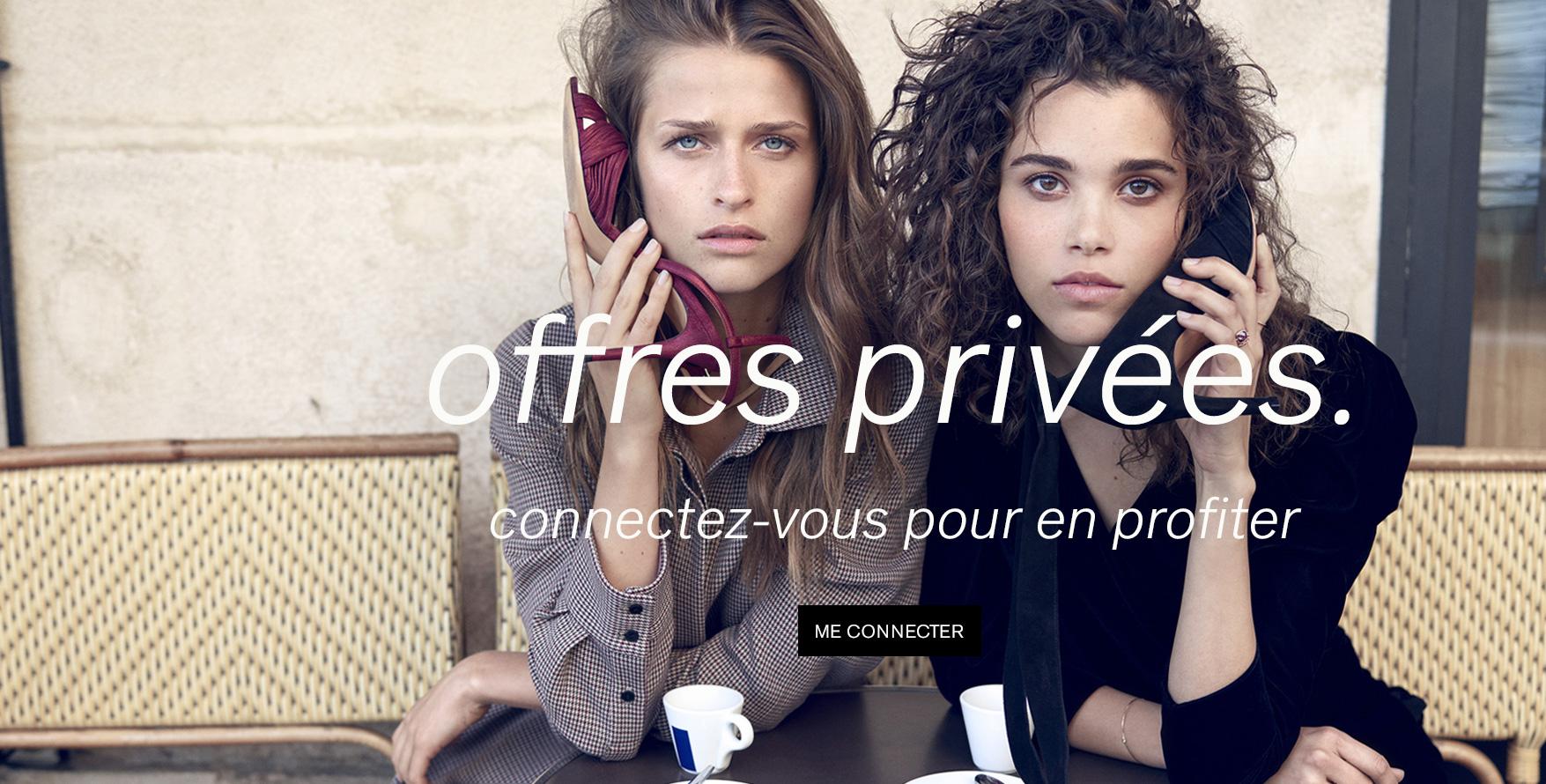 Connectez - vous pour profiter des offres privées